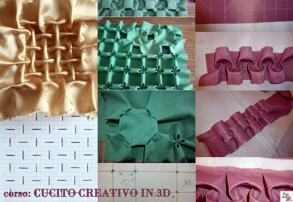 corso cucito creativo in 3d