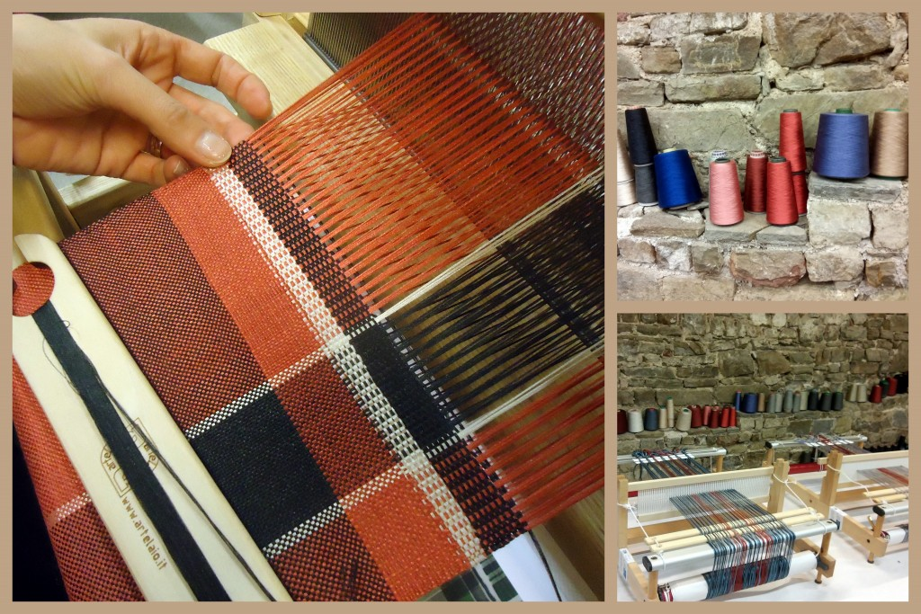 fili lucenti workshop tessitura