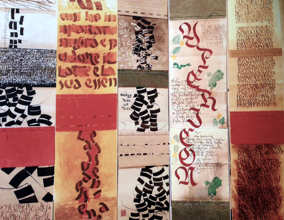ricami calligrafici corso