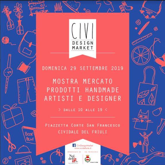 civi design market #6 locandina