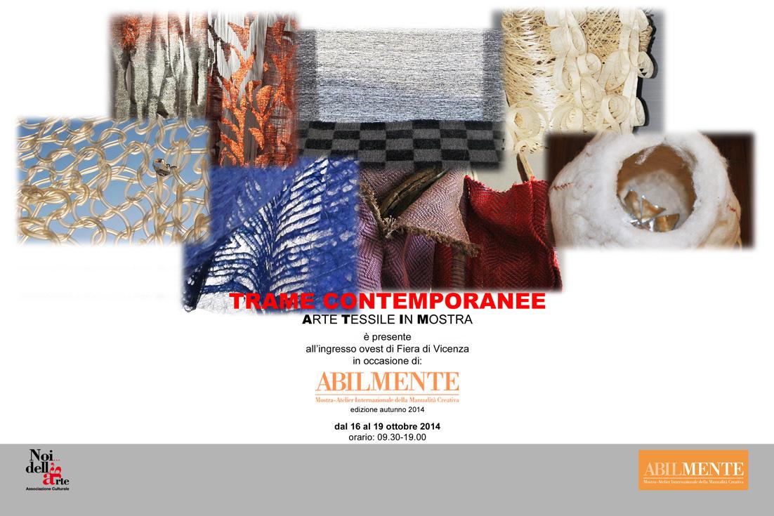 """Torna """"Trame Contemporanee"""", arte tessile in mostra"""