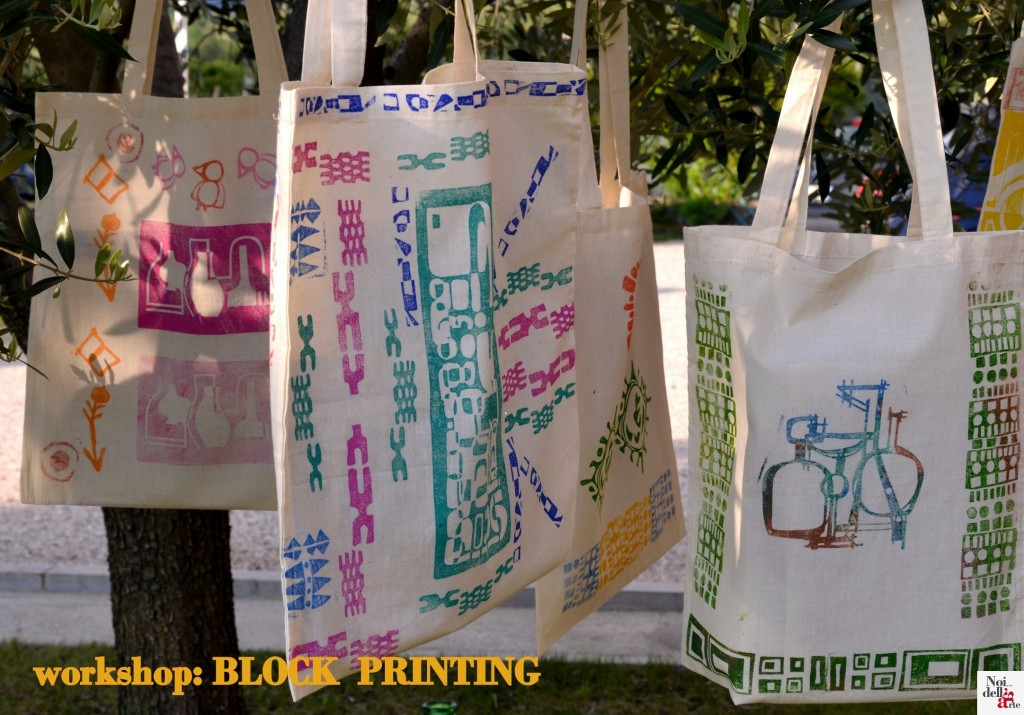 block-printing workshop