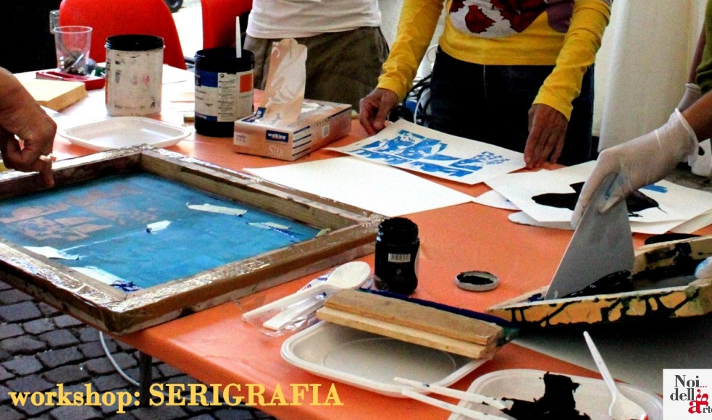 workshop serigrafia