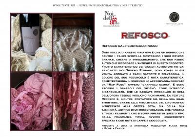 wine textures refosco