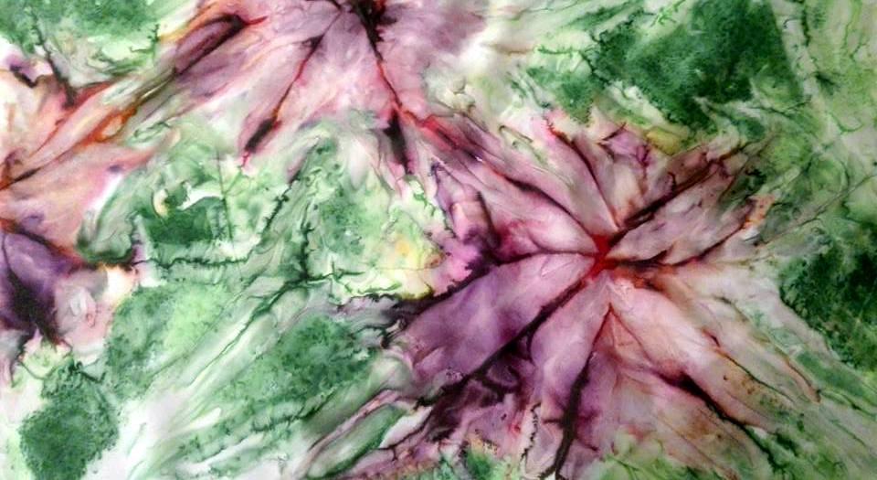 Acquarellando… sulla seta: imparare a dipingere la stoffa a Cividale