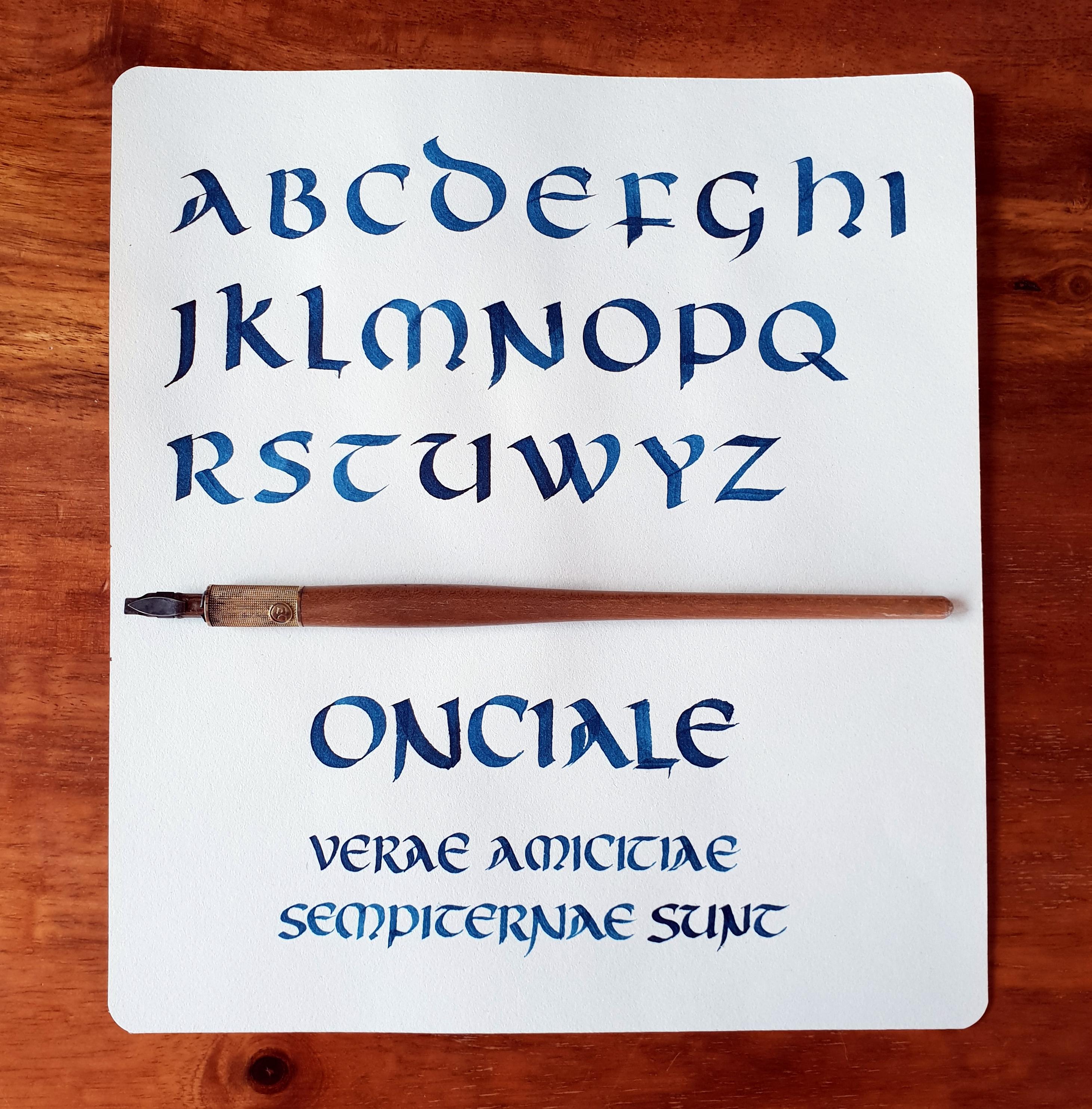 Calligrafia onciale: 23 marzo, workshop a Cividale del Friuli