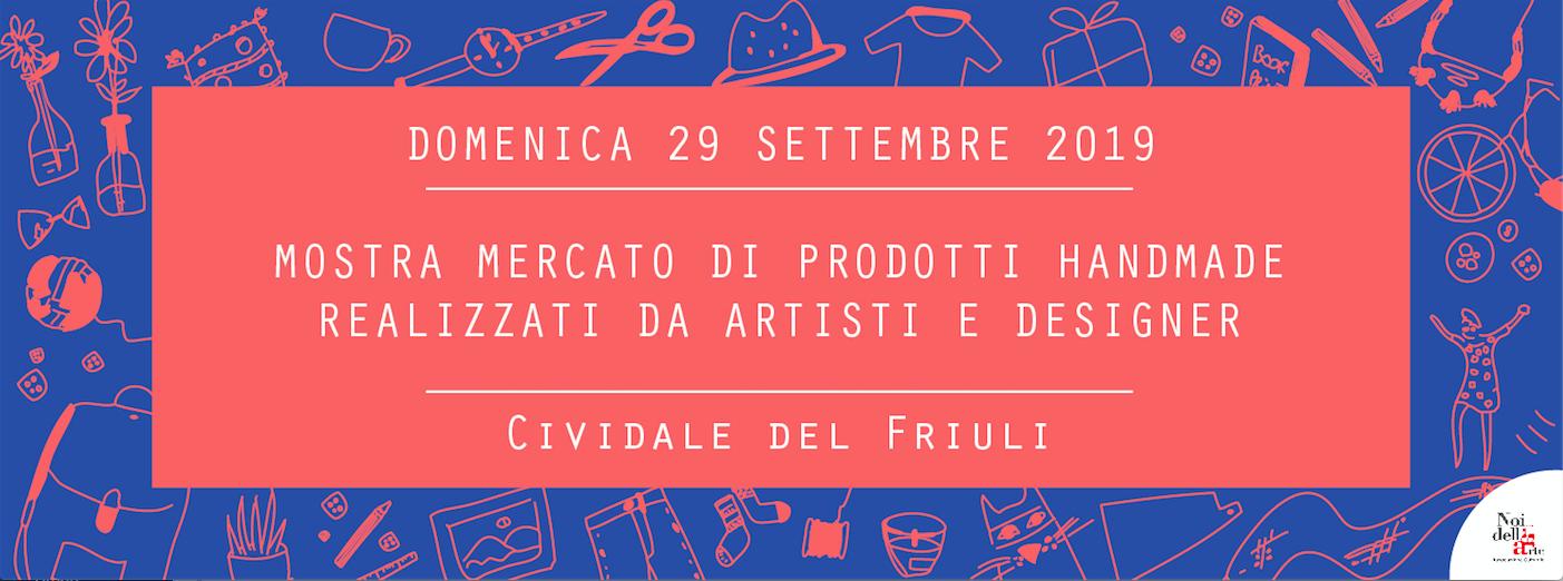 Civi Design Market #6: domenica 29 settembre a Cividale del Friuli