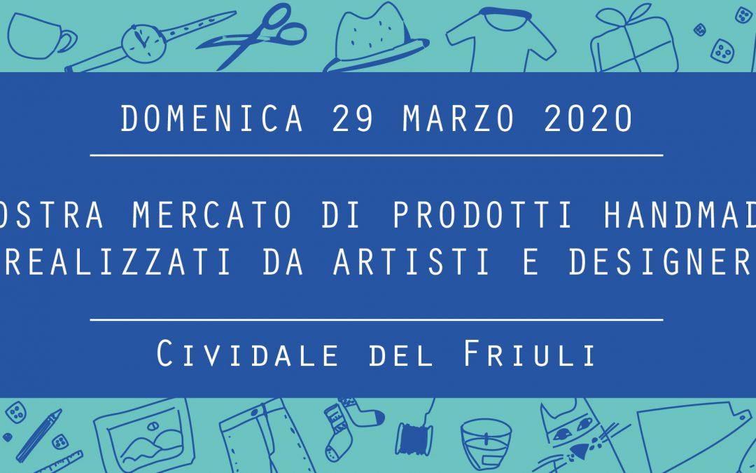 Civi Design Market #7: domenica 29 marzo a Cividale del Friuli