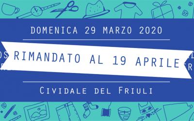 Civi Design Market #7: domenica 19 aprile a Cividale del Friuli