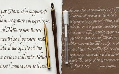 Calligrafia cancelleresca – 5 aprile a San Vito al Tagliamento