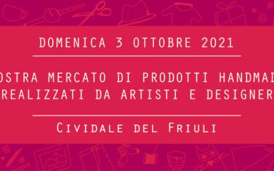 Civi Design Market #9: domenica 3 ottobre a Cividale del Friuli