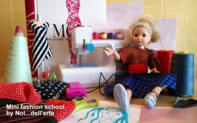 Mini Fashion School: come creare i vestiti per le bambole