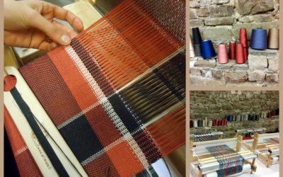 Fili lucenti, torna il workshop di tessitura con la seta