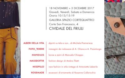POP UP, mostra mercato di prodotti handmade a Cividale
