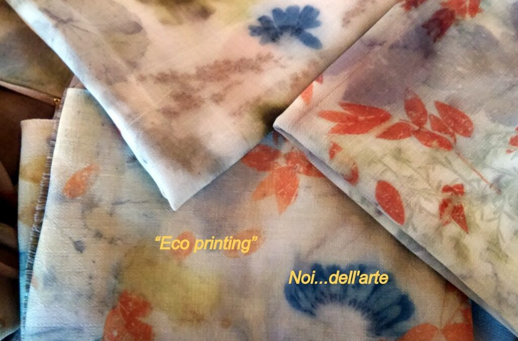 8 e 9 luglio, un weekend con l'Eco-printing